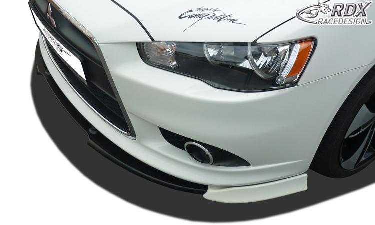 mitsubishi lancer sportback 08+ rdx vario-x frontlippe - jv imports