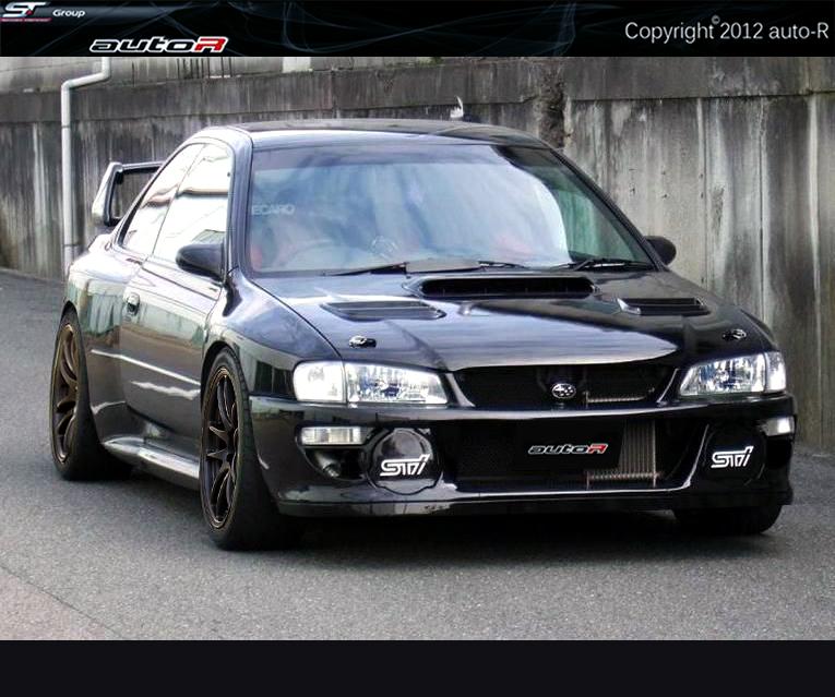 Subaru Impreza 92-00 GC8 Coupe 22B WRC Look Wide Body Kit